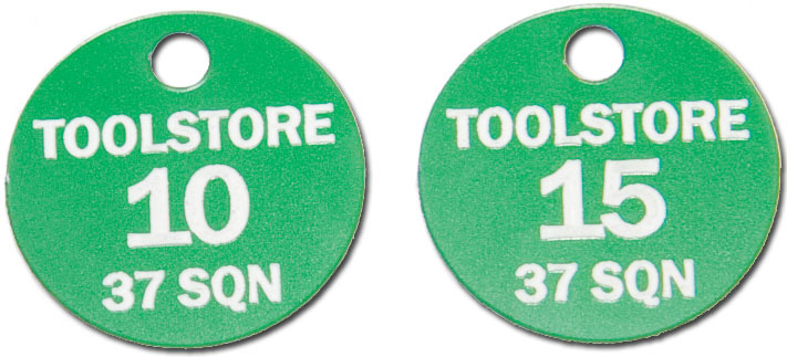 traffolyte tags used in the electrical industry
